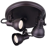 Canarm ICW622A03ORB10 Polo 3 Light Oil Rubbed Bronze Track Light Ceiling Light