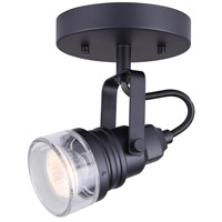 Brock 1 Light Black Track Light Ceiling Light