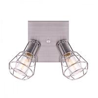 Canarm ICW702A02BN Wren 2 Light 8 inch Brushed Nickel Ceiling/Wall Light Ceiling Light