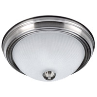 Signature 2 Light 11 inch Brushed Pewter Flushmount Ceiling Light