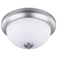 Canarm IFM256A13BPT New Yorker 2 Light 13 inch Brushed Pewter Flushmount Ceiling Light