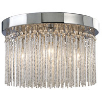 Canarm IFM454A15CH9 Monaco 4 Light 15 inch Chrome Flushmount Ceiling Light