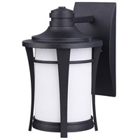 Canarm IOL138BK Maya 1 Light 2 inch Black Outdoor Wall Light