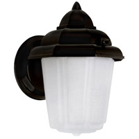 Canarm IOL1410 Signature 1 Light 9 inch Black Outdoor Wall Lantern