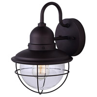 Lohan 1 Light 13 inch Oil Rubbed Bronze Outdoor Downlight