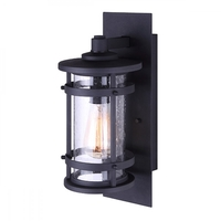 Canarm IOL341BK Duffy 1 Light 10 inch Black Outdoor Lighting