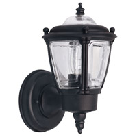 Signature 1 Light 9 inch Black Outdoor Uplight