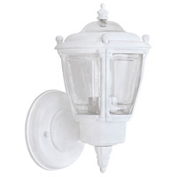 Canarm IOL711 Signature 1 Light 9 inch White Outdoor Uplight