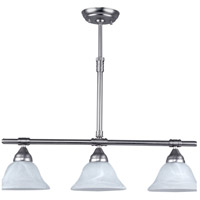 Athena 3 Light 28 inch Brushed Pewter Pendant Ceiling Light