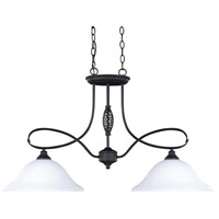Canarm IPL253A02ORB Twenty One 2 Light 34 inch Oil Rubbed Bronze Island Pendant Ceiling Light