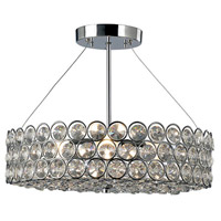 Canarm ISF104A03CH Alice 3 Light 14 inch Chrome Semi-Flushmount Ceiling Light