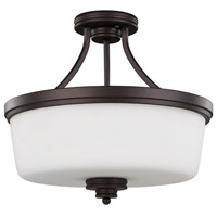 Canarm ISF286A03ORB Jackson 3 Light 16 inch Oil Rubbed Bronze Semi-Flushmount Ceiling Light