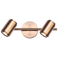Canarm IT1014A02GD10 Shale 2 Light Gold Track Ceiling Light