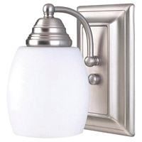 Griffin 1 Light 5 inch Brushed Pewter Vanity Wall Light