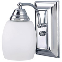 Griffin 1 Light 5 inch Chrome Vanity Wall Light