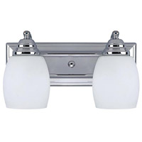 Canarm IVL259A02CH Griffin 2 Light 14 inch Chrome Vanity Wall Light