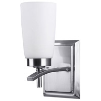 Portia 1 Light 5 inch Brushed Pewter Vanity Wall Light