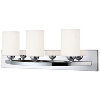 Canarm IVL370A03CH-O Hampton 3 Light 24 inch Chrome Vanity Wall Light