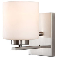 Leigha 1 Light 5 inch Brushed Nickel Vanity Wall Light