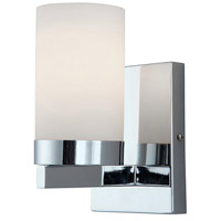 Milo 1 Light 5 inch Chrome Vanity Wall Light