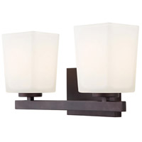 Canarm IVL472A02ORB Hartley 2 Light 14 inch Oil Rubbed Bronze Vanity Wall Light