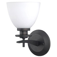 New Yorker 1 Light 5 inch Oil Rubbed Bronze Wall Fixture Wall Light