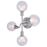 Canarm IWF346B04BN9 Healey 4 Light 18 inch Brushed Nickel Wall Fixture Wall Light