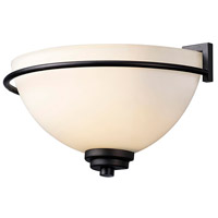 Canarm IWL421A01ORB Somerset 1 Light 12 inch Oil Rubbed Bronze Wall Light
