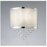 Reese 1 Light 11 inch Chrome Wall Sconce Wall Light