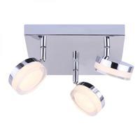 Canarm LCW143A03CH Elena LED 10 inch Chrome Ceiling/Wall Light Ceiling Light