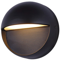 Ublo LED 6 inch Black Outdoor Wall Light