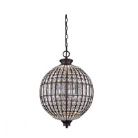 Canarm LPL145A15ORB Tilly LED 15 inch Oil Rubbed Bronze Pendant Ceiling Light