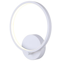 Canarm LWF128A01WH Lexie LED 1 inch White Wall Fixture Wall Light