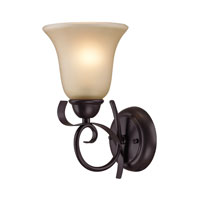 Cornerstone by Elk Brighton 1 Light Wall Sconce in Oil Rubbed Bronze 1001WS/10