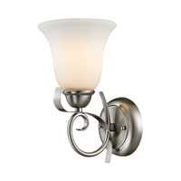 Cornerstone by Elk Brighton 1 Light Wall Sconce in Brushed Nickel 1001WS/20