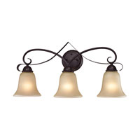 Cornerstone by Elk Brighton 3 Light Bath in Oil Rubbed Bronze 1003BB/10-EEF