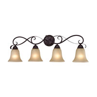 Cornerstone by Elk Brighton 4 Light Bath in Oil Rubbed Bronze 1004BB/10