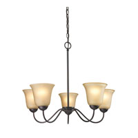 Cornerstone by Elk Conway 5 Light Chandelier in Oil Rubbed Bronze 1205CH/10