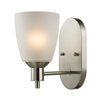 Cornerstone by Elk Jackson 1 Light Wall Sconce in Brushed Nickel 1301WS/20