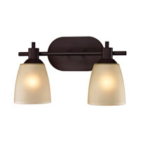 Cornerstone by Elk Jackson 2 Light Bath in Oil Rubbed Bronze 1302BB/10
