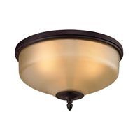 Cornerstone by Elk Jackson 3 Light Flush Mount in Oil Rubbed Bronze 1303FM/10