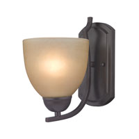 Cornerstone by Elk Kingston 1 Light Wall Sconce in Oil Rubbed Bronze 1401WS/10
