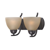 Cornerstone by Elk Kingston 2 Light Bath in Oil Rubbed Bronze 1402BB/10