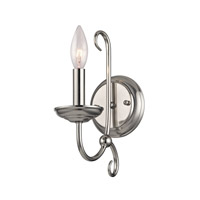 Cornerstone by Elk Williamsport 1 Light Wall Sconce in Brushed Nickel 1501WS/20