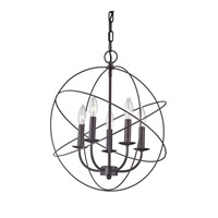 Cornerstone by Elk Williamsport 5 Light Large Pendant in Oil Rubbed Bronze 1515CH/10