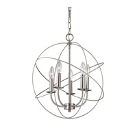 Cornerstone by Elk Williamsport 5 Light Large Pendant in Brushed Nickel 1515CH/20