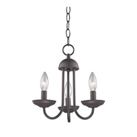 Cornerstone by Elk Williamsport 3 Light Mini Chandelier in Oil Rubbed Bronze 1523CH/10