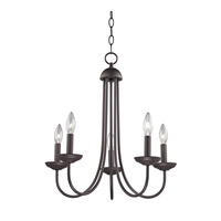 Cornerstone by Elk Williamsport 5 Light Chandelier in Oil Rubbed Bronze 1525CH/10