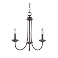 Cornerstone by Elk Williamsport 3 Light Chandelier in Oil Rubbed Bronze 1533CH/10