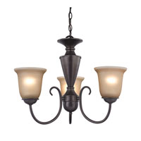 Cornerstone by Elk Greenville 3 Light Chandelier in Oil Rubbed Bronze 1603CH/10